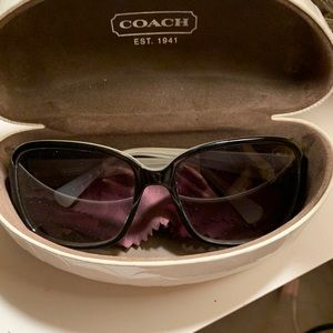 Coach Sunglasses and Case Included